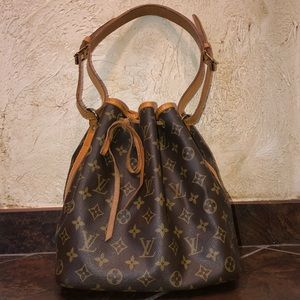 Louis Vuitton Vintage Monogram Petit Noe Bag